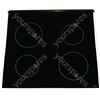 Hotpoint KD6C8EW Ceramic Glass Hob Top with White Trim