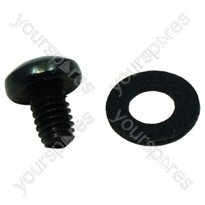 Hotpoint EW23ECH Screw M4 X 6mm Black