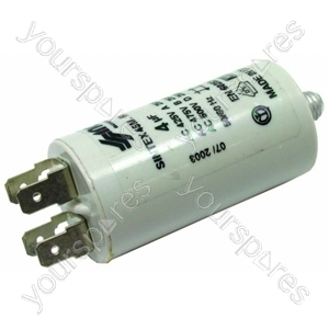 Hoover CDW35-(E) Candy Dishwasher 4 µF Capacitor
