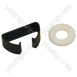 Candy LV5349HRB Dishwasher Spray Arm Nylon Washer/Nut