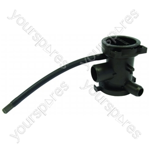 LG DWD16120FD Washing Machine Pump housing