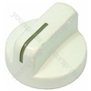 Indesit White Electric Cooker Control Knob