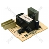 Indesit IS60V Pcb Relay Vdr Serv