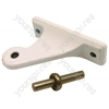 Hotpoint White Centre Fridge Door Hinge