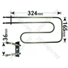 Hotpoint 6550P 1330 Watt Half Grill Element (240V)