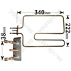 Indesit 1200W Top Oven Grill Element