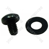 Hotpoint KD3C1EW Screw M4 X 6mm Black