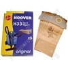 Hoover H33 Dust Bag (Pack of 5)