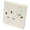 Switched Socket 1 Gang 13 Amp
