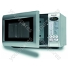 Microwave 800w 19l Silver
