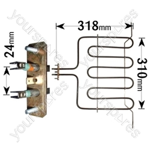 Hotpoint Grill Element 2500w