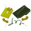 Servis Door Handle Kit Brown