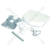 Merloni Door Handle Kit White