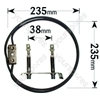 Hotpoint 6117B Fan Oven Element 2500w