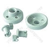 Hotpoint 7870W Basket Wheel Lower Pair