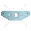 Servis Washing Machine White Latch Plate