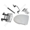 Servis M3210W Door Handle Kit White