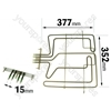 Whirlpool AKZ19501AL Grill Element K
