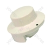 Whirlpool White Microwave Control Knob