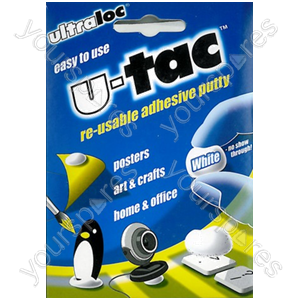 B2114 Ultraloc U-tac Re-usable Adhesive Putty 12 X Cdu
