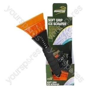 B2160 Soft Grip Ice Scraper