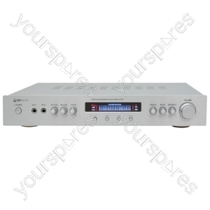 (UK version) KA-50 AV/Karaoke Stereo Amplifier, Silver