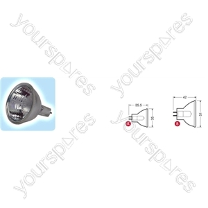 MR16 lamp, G5.3, 24V, 250W - GE