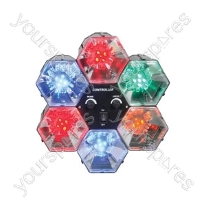 (UK version) 6-WAY LED PARTY LIGHTS