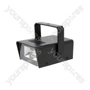 (UK version) Mini strobe, plastic case, 20W
