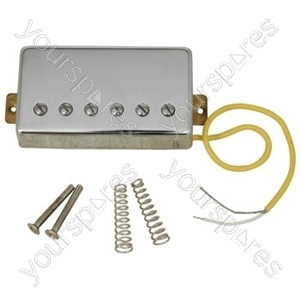 Humbucker - Chrome Covered