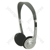 SH30 Lightweight Stereo Headphones.