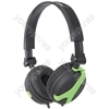 QX40G Green Stereo Headphones