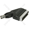 BNC/SCART adaptor