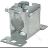 Pressed facia mast bracket with clamp- bulk