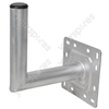 2inch x 35cm galvanised satellite wall mount- bulk