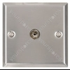 TV wallplate white