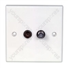 BA46 TV/Satellite wallplate