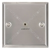 3.5mm audio wallplate steel