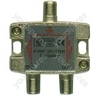 3-way satellite F splitter