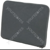 Black 17&quot; laptop sleeve