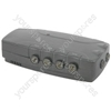 (UK version) 4-Way distribution amplifier with DC pass (F socket)