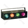 (UK version) 4-channel light effect, sound to light,