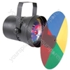 (UK version) PAR36 spot light with colour wheel