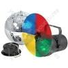 Disco light set 3 with 30cm mirrorball
