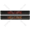 7 x 120 White LED Moving message display MKII