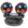 (UK version) Dual Rotating Disco Balls, Free Standing