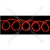 (UK version) LED Rope light set - 20m, Multicolour