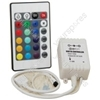 LTC22IR RGB TAPE CONTROLLER WITH 24 KEY IR REMOTE