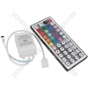 RGB Tape controller with 44 key multi function IR remote