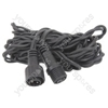 Outdoor string light extension cable - 3m